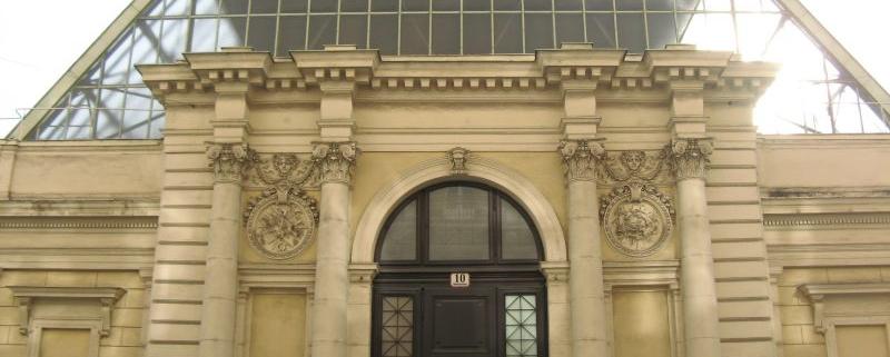 Künstlerhaus mit Oberlichtsaal