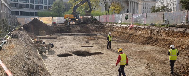 Karlsplatz Ausgrabungen 2020