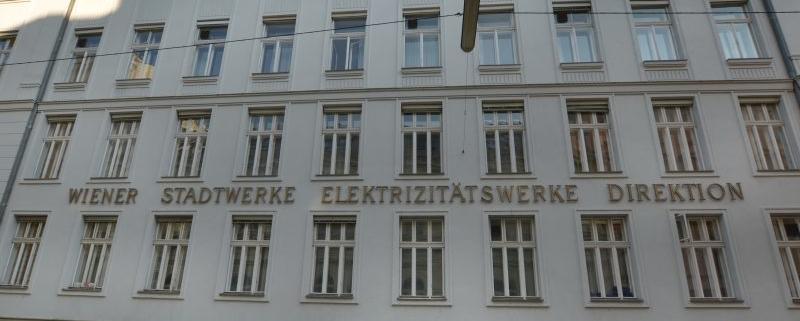 Höfergasse, ehem. Wiener Elektrizitätswerk