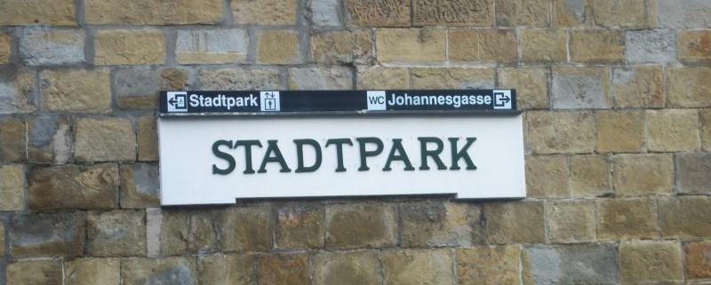 U-Bahn-Station Stadtpark