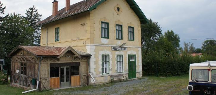 Aufnahmsgebäude Oberschützen, Burgenland