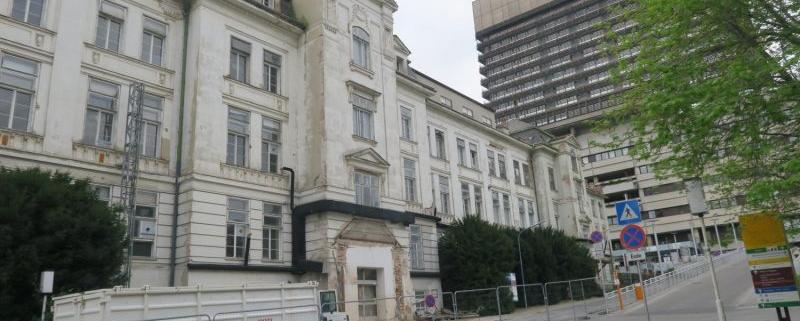 AKH Klinikgebäude, Wien, 9. Bezirk