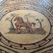 Römisches Fußbodenmosaik