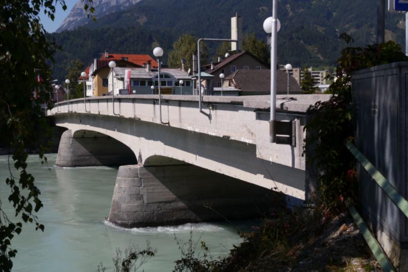 Innbrücke in Schwaz (Tirol)