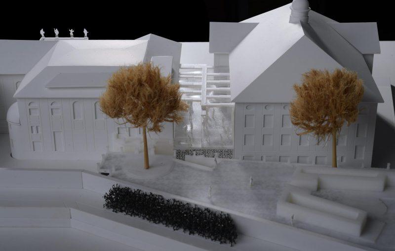 Architektenwettbewerb, Mozarteum Salzburg, Siegerentwurf
