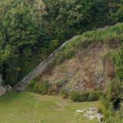 Todesstiege im KZ Mauthausen (OÖ)