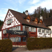 Das ehemalige Gasthaus Torggel in Röthis, Vorarlberg