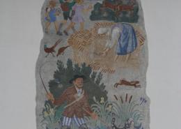 Wandgemälde von Wilhelm Kaufman, Salzburg