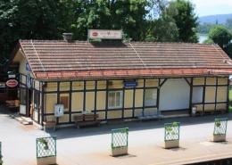 Annenheim, Bahnhofsgebäude