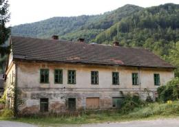 Ehemaliges Arbeiterwohnhaus in Kienberg