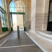 Barrierefreier Zugang Weltmuseum Wien