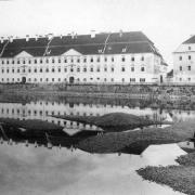 Die Linzer Wollzeugfabrik, um 1890