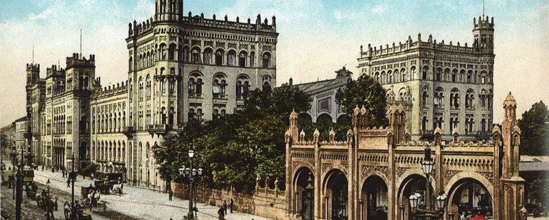 Nordbahnhof Wien, um 1900