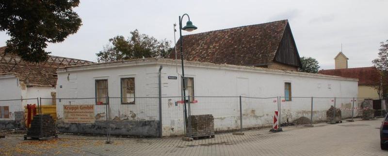 Jakobhaus in Pöttelsdorf, Abriss