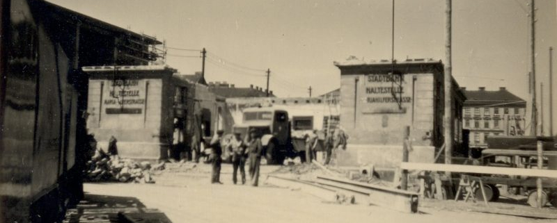 Stadtbahnstation Mariahilfer Straße Wien, Abriss 1951