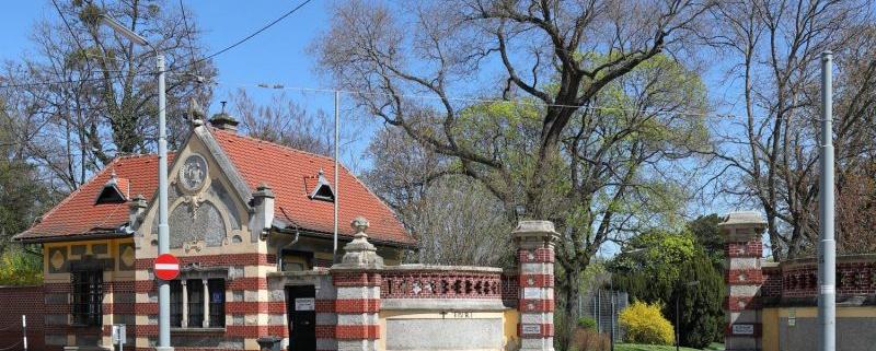 Das Pförtnerhaus der ehemaligen Rothschild-Gärten