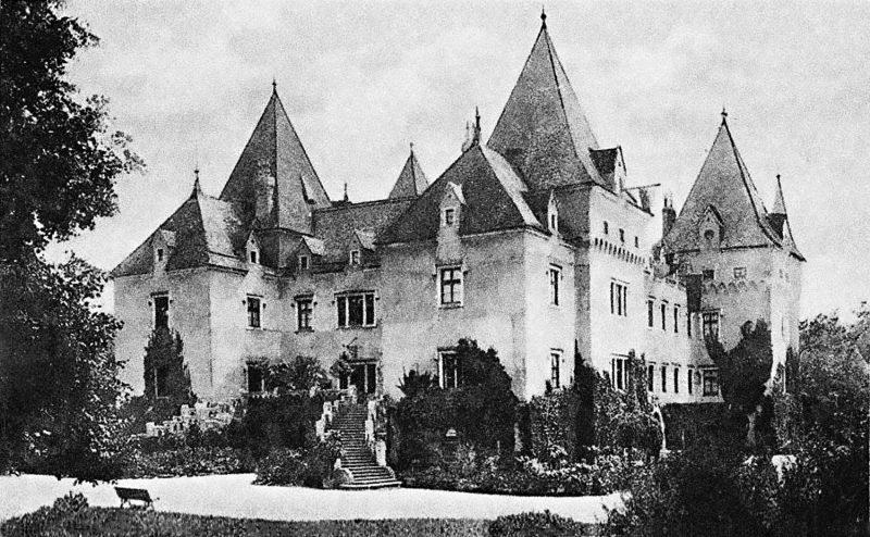 Schloss Immendorf, Postkarte