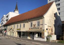 'Denksteinhaus', Bahnhofstraße 6, Wels (Foto Nov. 2020)