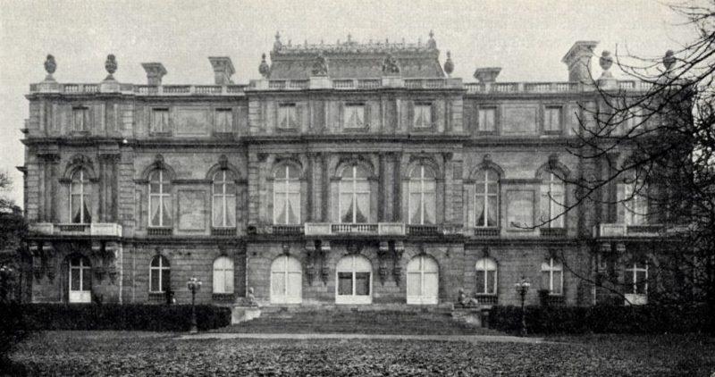Palais Rothschild, Gartenseite, Wien