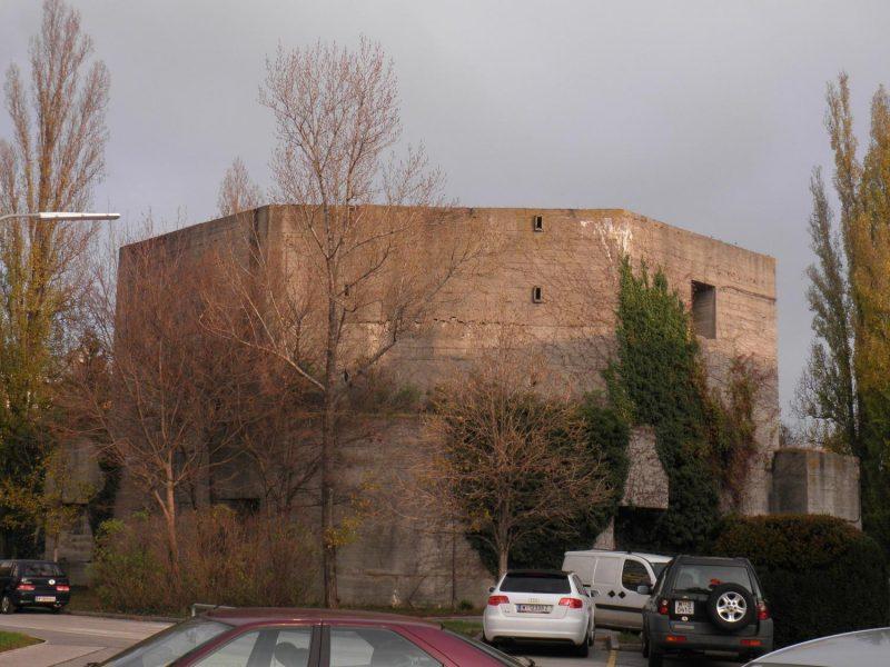 Flakturm/Bunker in Wien-Floridsdorf