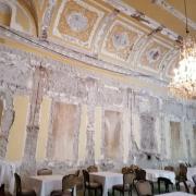 Barocksaal nach der Zerstörung, Hotel Europa, Innsbruck