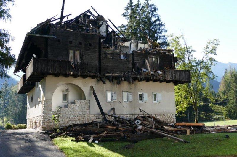 Villa Peham nach Brand, Hinterstoder