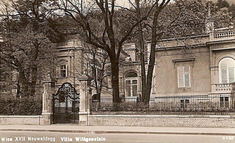 Villa Wittgenstein, Historische Ansichtskarte