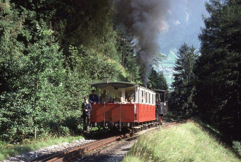 Achenseebahn, Tirol