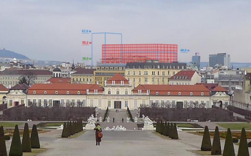 Heumarkt-Hochhausprojekt 'Plan B' 2020/21, Wien
