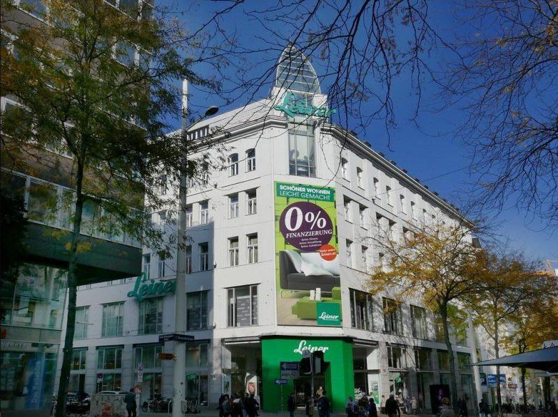 Das Leiner-Kaufhaus, Mariahilfer Straße 18, 1070 Wien