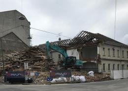 Rinnböckhaus Abriss 2021, 1110 Wien