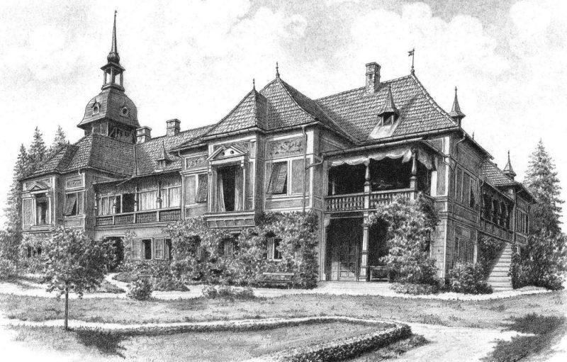 Die Villa Dumba in Liezen