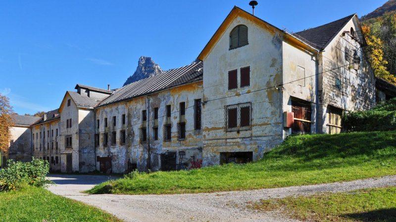 Brauereigebäude, Gut Guggenthal bei Salzburg