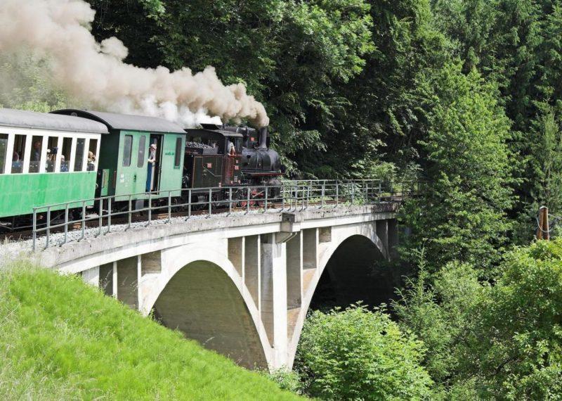 Die Feistritztalbahn in der Steiermark